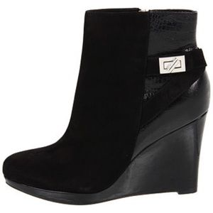 NEW Cole Haan Martina Wedge Booties